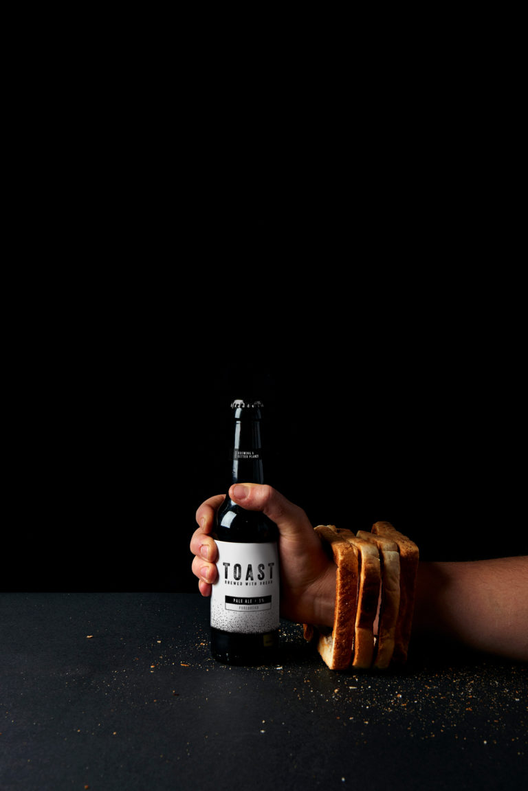 TOAST Fist through bread - Pale Ale (credit Camilla Wordie)